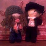 Luki and Sonny Amigurumi by Swallow TT