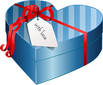 wrapped heart present pixabay free to use