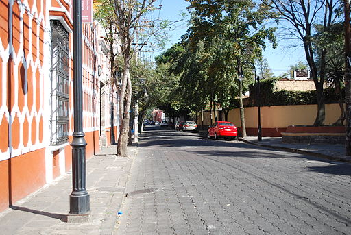 Street in Coyoacan