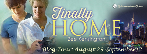 Finally Home blog tour banner