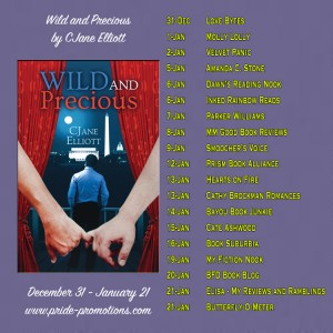 wild and precious blog tour