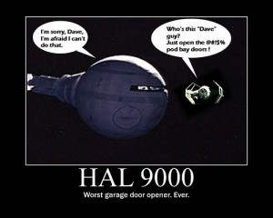 Hal 9000 and TIE