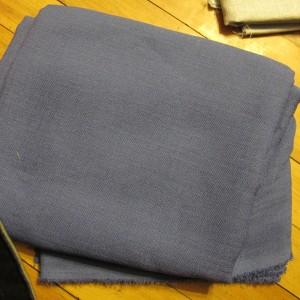 3. Blue Cashmere Suiting