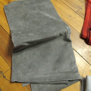 5. Grey Leather - supple