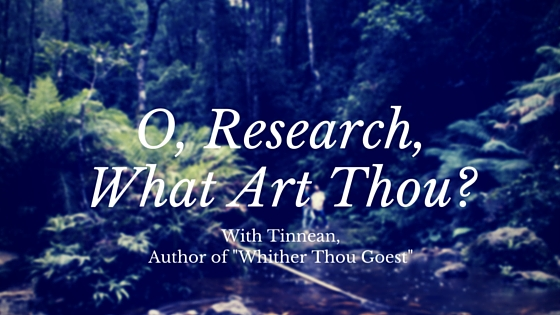 O, Research, What Art Thou-