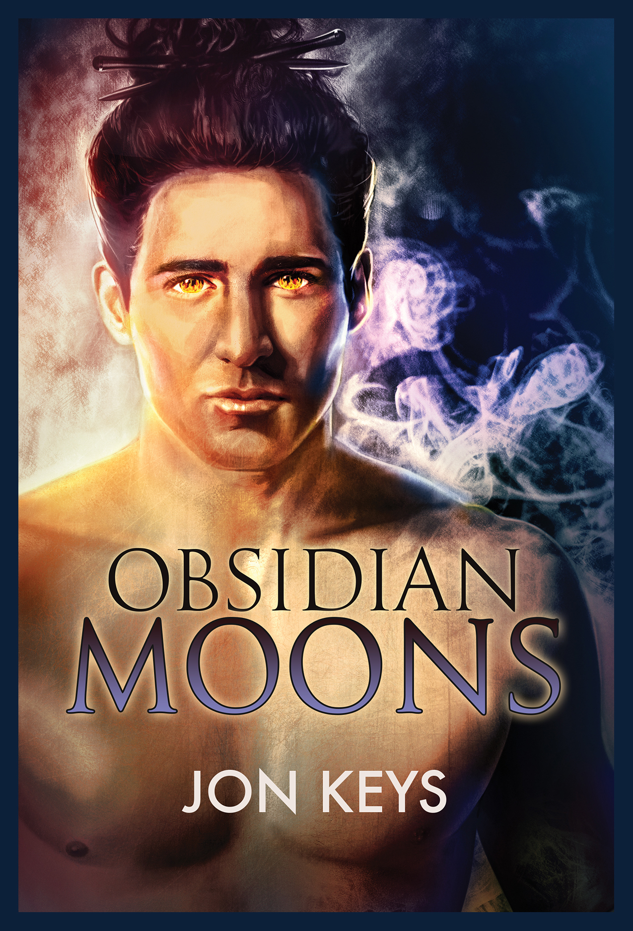 Obsidian Moons by Jon Keys