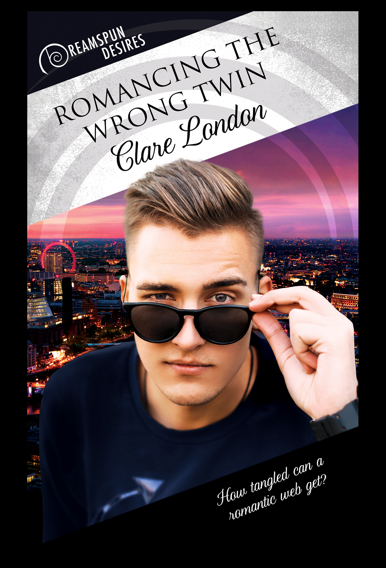 Romancing the Wrong Twin by Clare London